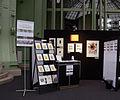 Paris - Salon du livre ancien et de l'estampe 2012 - stand des Nouvelles de l'estampe de face.JPG