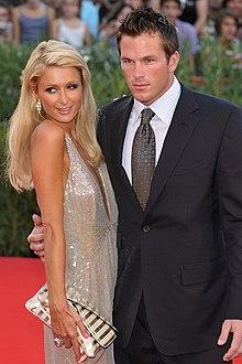 Paris Hilton e Doug Reinhardt al Festival del cinema di Venezia