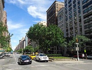 Upper East Side Neighborhood of Manhattan in New York City
