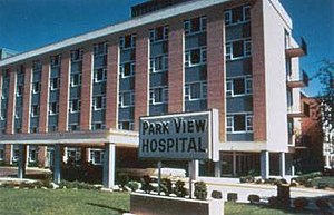 Hospital Corporation of America - Parkview Hospital circa 1968