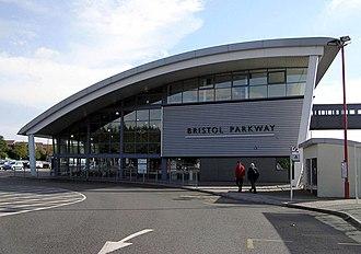 Public transport in Bristol - Bristol Parkway railway station