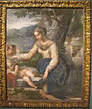 Parmigianino, sacra famiglia, 1525-27 ca., Q110, 01.JPG
