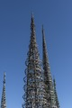 Part of Watts Towers, a collection of structures and art in the low-income Watts section of Los Angeles, California LCCN2013631525.tif