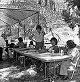 Participants at the third annual Folklife Festival, Zion National Park Nature Center, September 7-8, 1979. ; ZION Museum and (e057ce6980684e9dac712acffa7d73e4).jpg