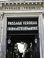 Passage Verdeau, Paris IX, côté 6 rue de la Grange-Batelière (1)..JPG