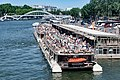 Passerelle Debilly and Pierre Bellon - Bateaux Parisiens, Paris 26 May 2017.jpg