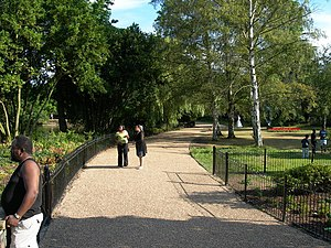 Parks and open spaces in the London Borough of Southwark - Dulwich Park in Southwark, London, England