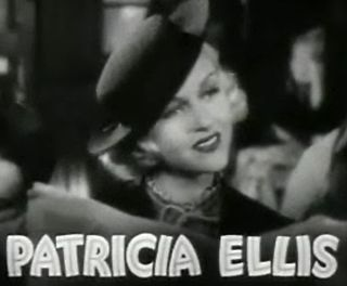 Patricia Ellis American film actress