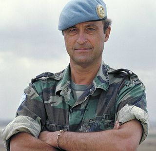 Patrick Cammaert Dutch general