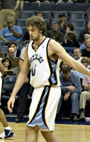 2001 NBA draft - Pau Gasol, the 3rd pick