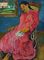 Paul Gauguin - Faaturuma (Melancholic) - Google Art Project.jpg