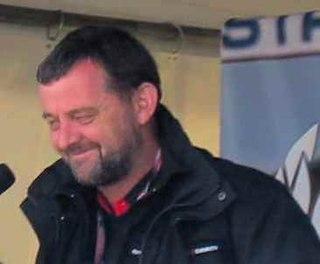 Paul Stoddart Australian airline magnate and former Formula One team owner