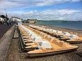 Pedalos on Weymouth Beach (geograph 5419177).jpg