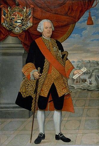 Manuel de Amat y Junyent - Portrait of Amat as Viceroy of Peru, 1773