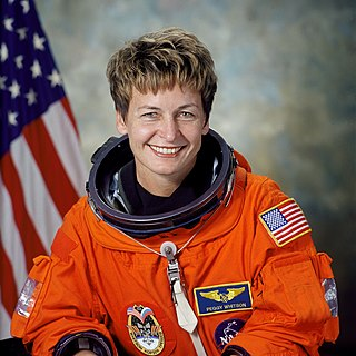 Peggy Whitson American biochemistry researcher and NASA astronaut