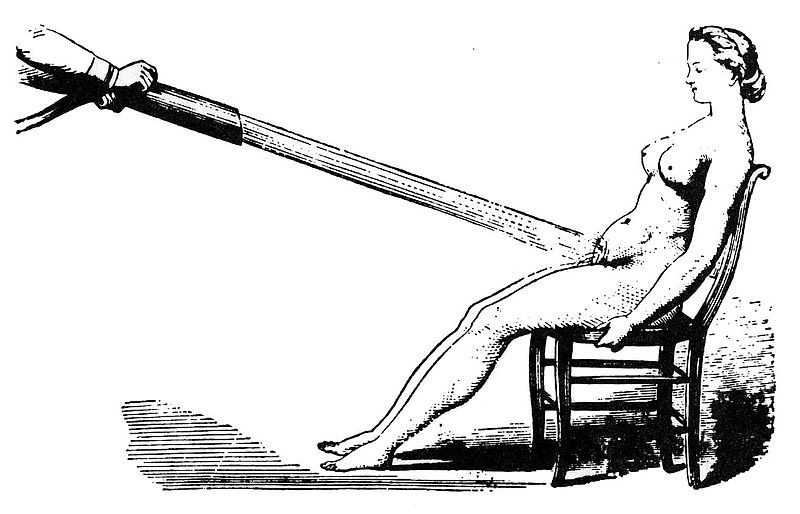Image of hydrotherapy used in The Technology of Orgasm