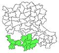 Penukonda revenue division in Anantapur district.png