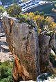 Penya del Cullerot del Castell de Guadalest.JPG