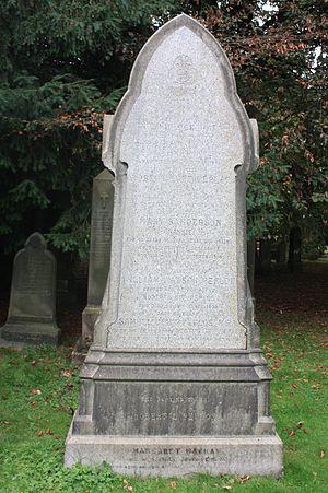 Samuel Peploe - Peploe grave, Dean Cemetery