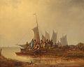 Per Gabriel Wickenberg - Segelfartyg och fiskare.jpg