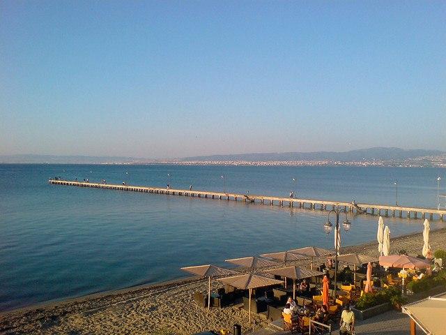 Peraia view
