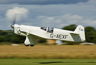 De Havilland Gipsy Six - de Havilland Gipsy Six powered Percival Mew Gull