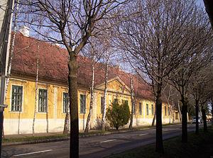 Mór Perczel - Perczel's birthplace in Bonyhád