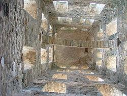 San Pere de Rodes bellfry. Alt Empordà. ESP 2006