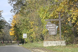 Perrot State Park - Image: Perrot State Park Wisconsin North Entrance