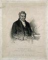 Peter Nicholson. Stipple engraving by J. Cochran, 1825, afte Wellcome V0004293.jpg