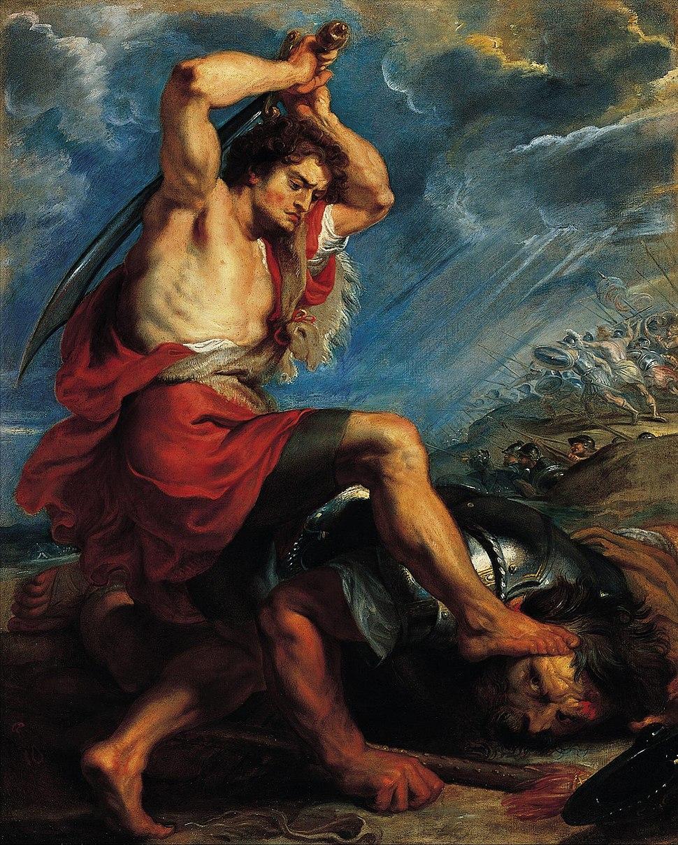 Peter Paul Rubens David Slaying Goliath