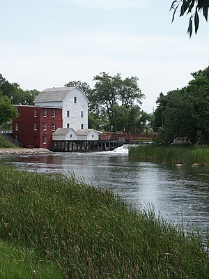 Minnesota - Phelps Mill in Otter Tail County
