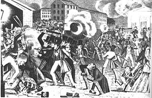 Know-Nothing Riot - Philadelphia Nativist Riots of 1844