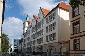 Philanthropin - The Philanthropin's school building from 1908