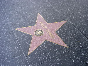 Philip Dunne (writer) - Philip Dunne's star on the Hollywood Walk of Fame.