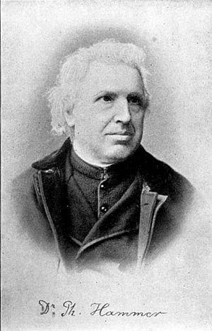 Kreimbach-Kaulbach - Dr. Philipp Hammer, about 1895
