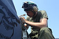 Photo Essay, Aircraft maintenance aboard amphibious shipping keeps U.S. Marines mission readyBy, Capt. Robert Shuford 120929-M-TK324-007.jpg