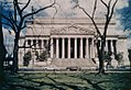Photograph of National Archives Building at the Constitution Avenue Entrance (3874719164).jpg