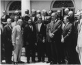 Photograph of White House Meeting with Civil Rights Leaders. June 22, 1963 - NARA - 194190.tif