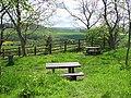 Picnic tables, Pencraig - geograph.org.uk - 2085629.jpg