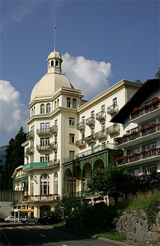 Maharishi Mahesh Yogi - The Maharishi's headquarters in Seelisberg, Switzerland