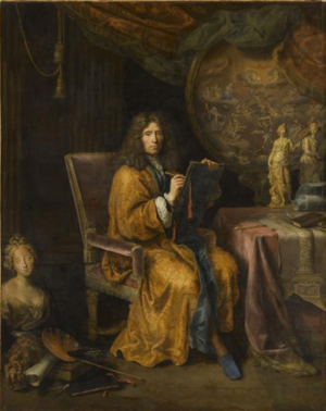 Pierre Mignard - Self-portrait