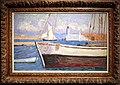 Pierre bonnard, il porto delle imbarcazioni da diporto, antibes, 1914.jpg