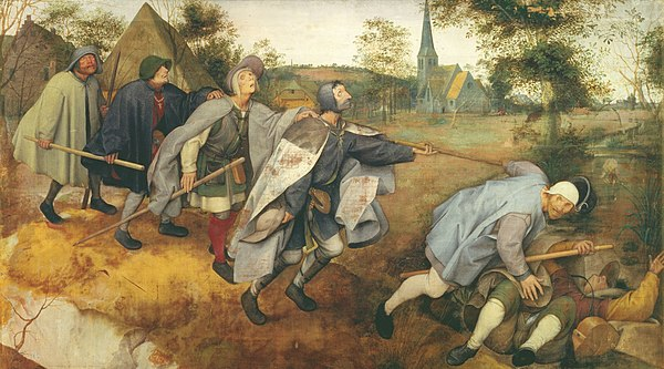Pieter Bruegel the Elder (1568) The Blind Leading the Blind.jpg