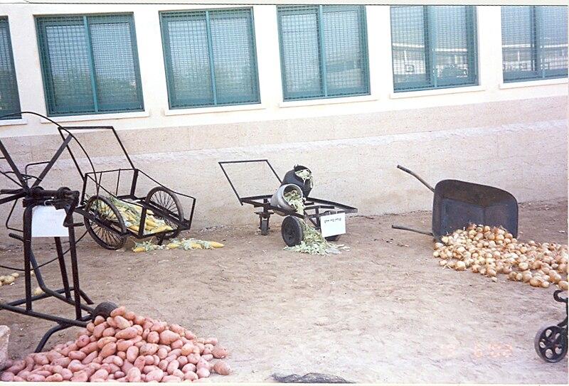 תערוכת כלי חקלאות ישנים