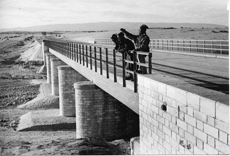 סכר הרואיפה - הגשר באבו עגילה