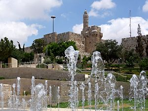 Teddy Park (Jerusalem) - Image: Piki Wiki Israel 37555 David Tower Jerusalem