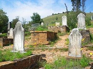Uitlander - Uitlander cemetery at Pilgrim's Rest, Mpumalanga