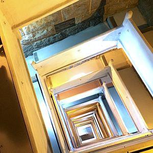 Pilgrim Monument - Image: Pilgrim Monument (intérieur)