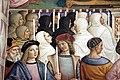 Pinturicchio, liberia piccolomini, 1502-07 circa, Pio II canonizza santa Caterina da Siena 03.JPG